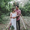 Bohemian Love Shoot in the Woods