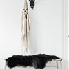 Design Sleuth: 5 Black Sheepskin Throws