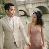 Happy Valentine's Day with Stunning a Pre-Wedding Photoshoot in Paris