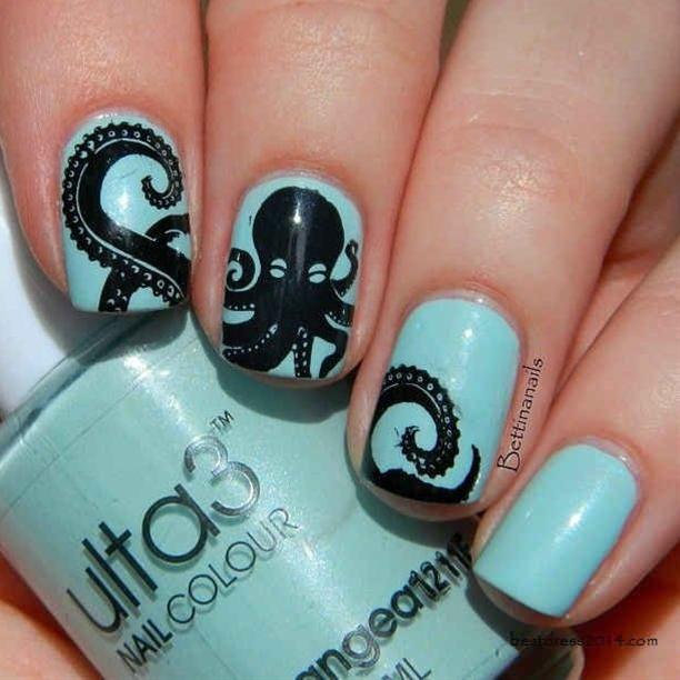 Colorful Nail Art Design That Screams Summer