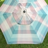 Before & After: Faded Outdoor Umbrella Sees The Light of Day