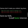 Game don't make you violent… #9gag
