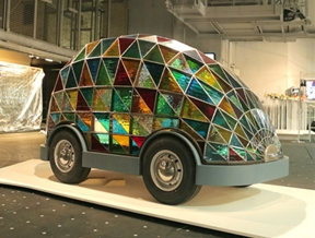 Dezeen and MINI unveil visions for the future of mobility at London Design Festival