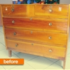 Before & After: A Damaged Dresser Gets a Dramatic Upgrade