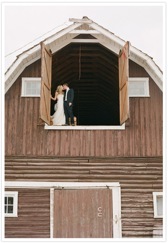 Colorado ranch wedding.