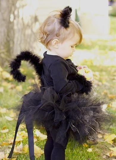 This is a super easy costume to make, even if you only have a day before Halloween to make it.  It can be made for a little person, or even a big person.