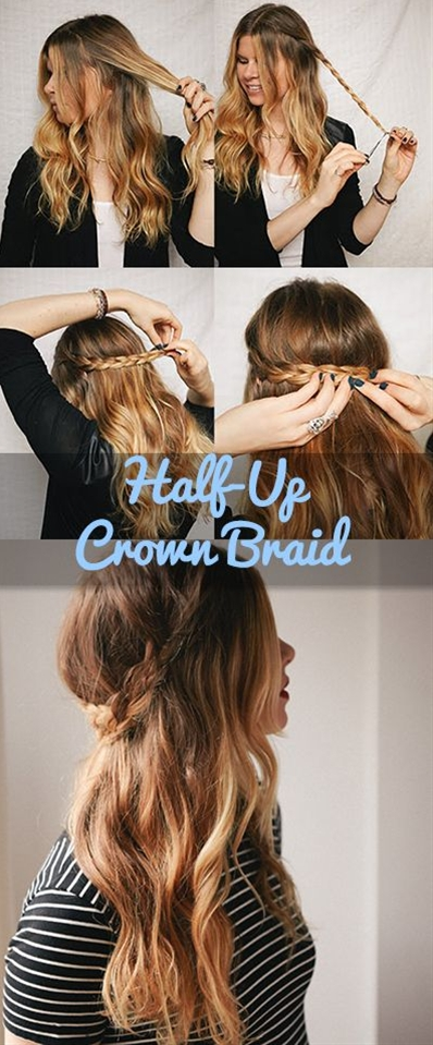 This look is super easy and very cute. It's good for date night or just hanging out with your girlfriends. I love to braid, it is definitely my go-to style, so here's another one I can add to my arsenal.