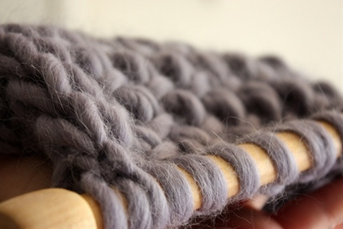 five tips to make knitting with great big needles easier :)