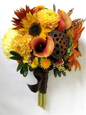 sunflower fall bouquet