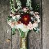 A Modern & Glamorous Garden Wedding