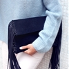DIY FRINGED CLUTCH (FROM SCRATCH!)