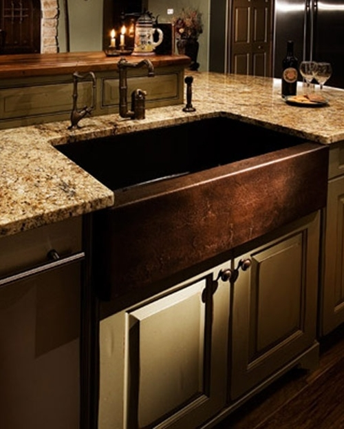 stylish AND copper is naturally bacteria-resistant.. Big plus with all the germs in a kitchen!