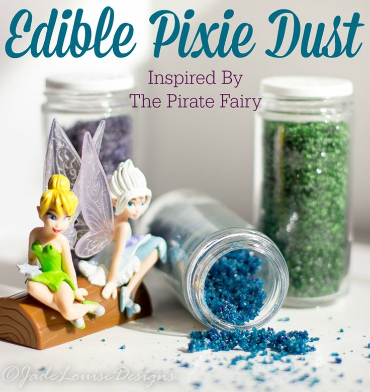 Edible Pixie Dust - The Pirate Fairy Inspired recipe, perfect for baking special treats!
