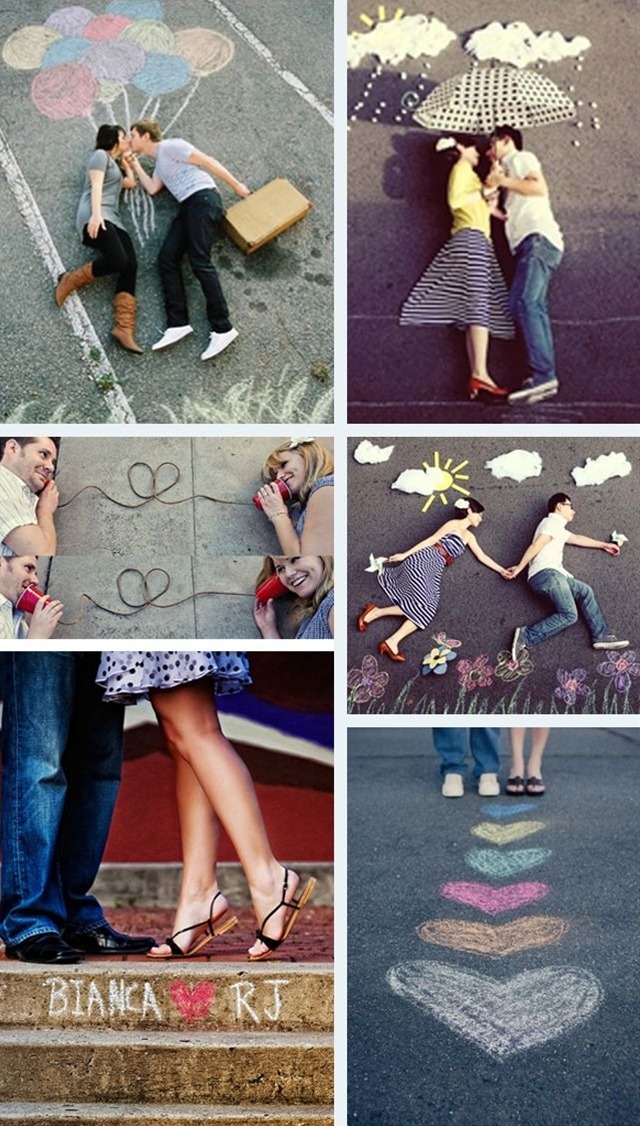 Chasing pavements… how cute is this pavement art?! You could really let your imagination run riot… so, so creative and cute!!