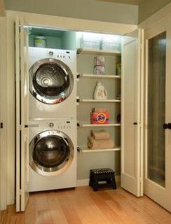 Contemporary Laundry Room design by Seattle Architect Midori Yoshikawa Design Group