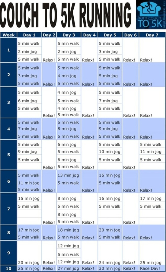 Couch to 5k! Just what I need! - Click image to find more hot Pinterest pins