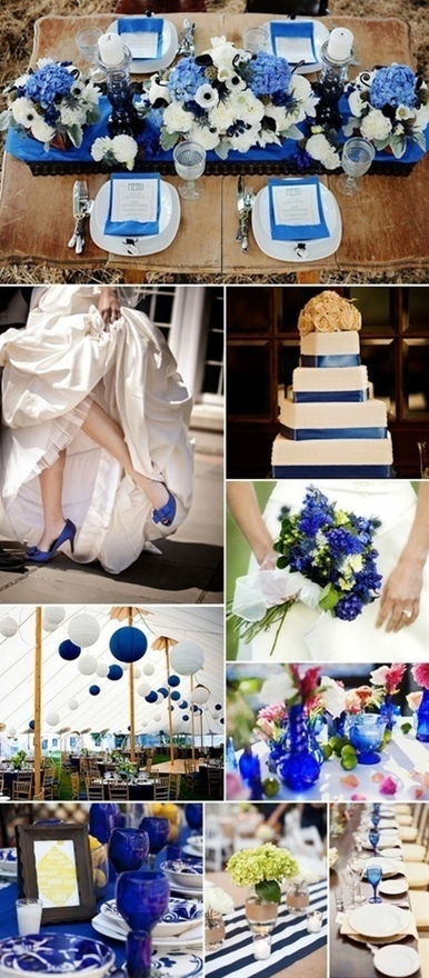 no.... i love this blue and have been thinking about this color since i saw it for my wedding