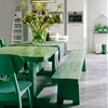 Steal This Look: A Bright Green Dining Room in Amsterdam
