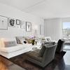 Sleek and Functional Two Bedroom Apartment Showcasing FamilyScandinavian Design