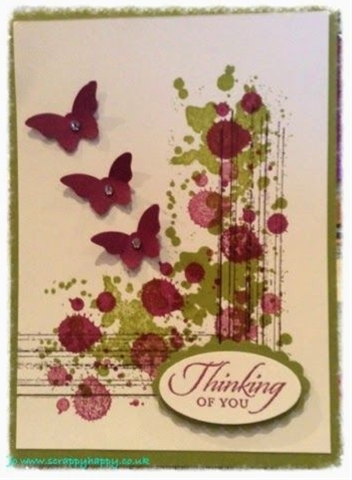 Scrappy Happy: Another gorgeous grunge card