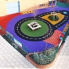You Can Have This in Your Backyard Now:  Wetpour Safety Surfacing by DCM Surfaces Comes with Design
