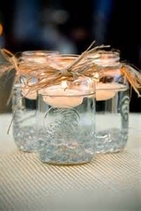 do not throw your glass jars, they will be a valuable raw material for all kinds of achievements.