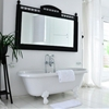 13 Noirish Black and White Bathrooms