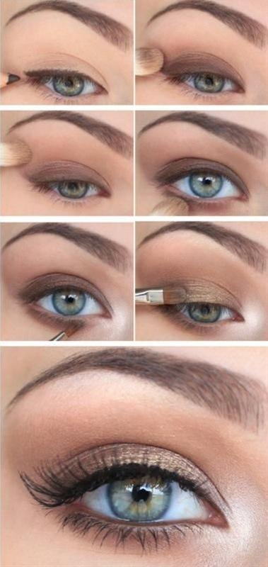 Beautiful natural everyday makeup
