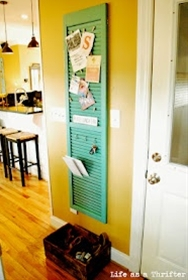 An at-the-door organizer.