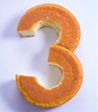How to cut a cake to turn it into ANY number (1,2,3,4,5,6,7,8,9,0). Perfect for birthday cakes!!