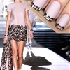 MANICURE MUSE: DSquared² Fall '14 Playing just the tip today on Miss Ladyfinger. Click through for the tutorial!
