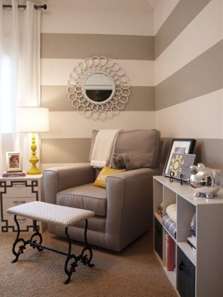 Like the mirror, but for master bedroom at head of bed. Notice the silver piggy bank in boy's room