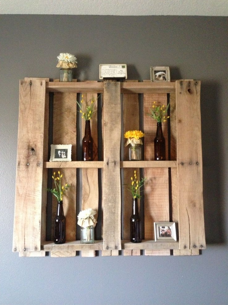 Makes a great wall feature in any room and so easy to change out decor for a new look!