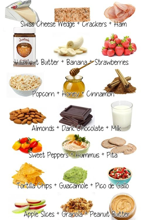 So easy to have all these items in your kitchen! I know my next shopping list!