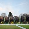 Intricate Folding Facade Showcased by Modern Nursery Design in Marburg, Germany