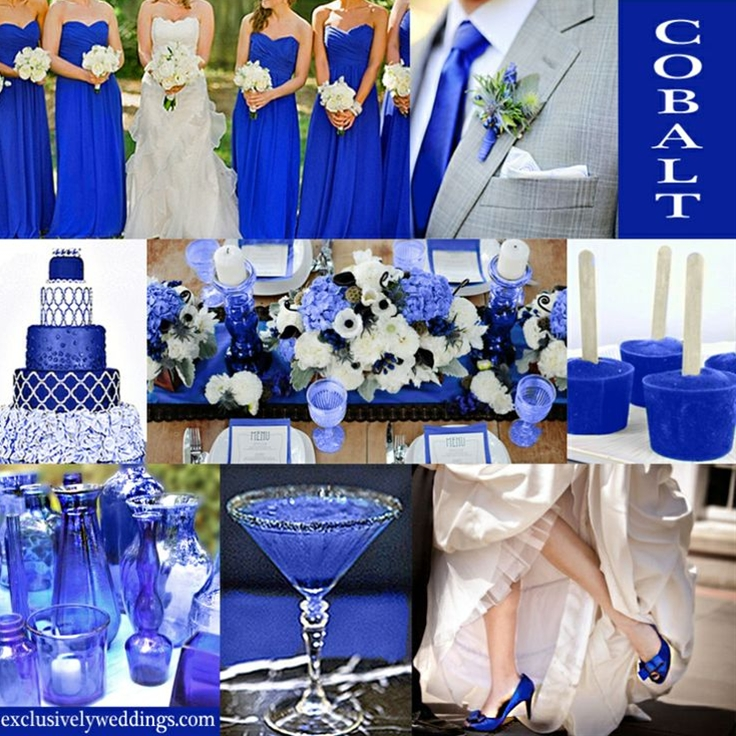 If you love blue, then Cobalt may be the color for you! Cobalt is a very saturated, vibrant shade of blue that steps it up a notch from the more expected Royal and other mid-tone blues.