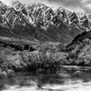 Snow Capped Remarkables by justenoughfocus ...