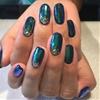 Color-Shifting Nails for Laura #heynicenails #hoopsupplies #nailart #longbeach #nicenailsfornicepeople (at Hey, Nice Nails)