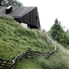 Alpine cabins by Pedevilla Architekten build on traditions of Tyrolean farmhouses