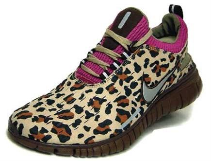 leopard print sneakers!