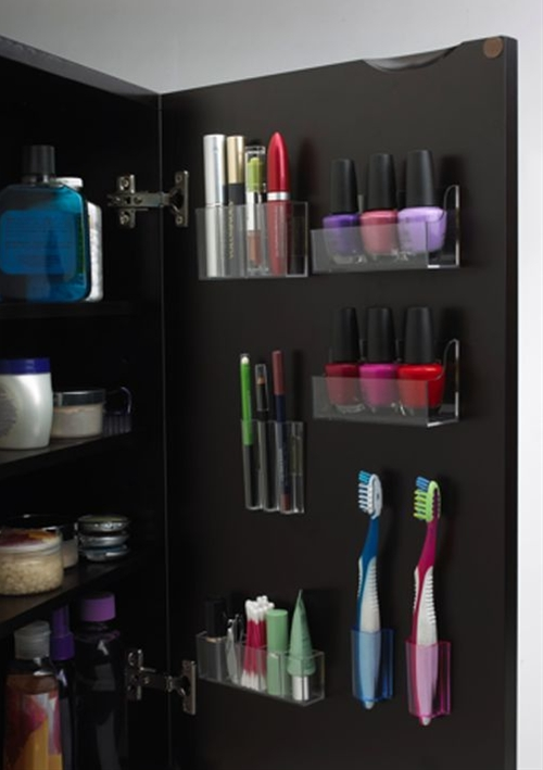 AMAZING idea to de-clutter the bathroom drawers.