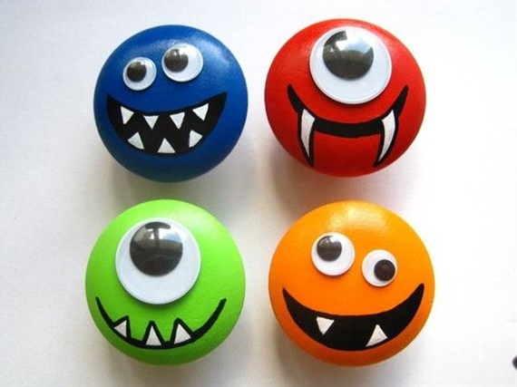 Love, love, love, absolutely love, triple stamp love these!!! (I'm thinking painted rock monster magnets)