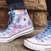 Transform a Pair of Converse into a Watercolored Work of Art
