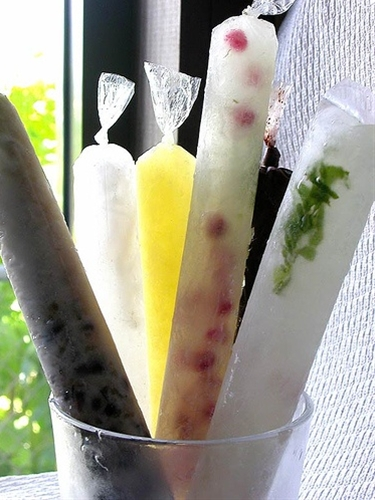 Alcoholic ice candy