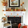Our Simple Fall Mantel ...