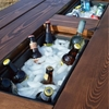 DIY an Outdoor Table with a Built-in Hidden Cooler — Remodelaholic