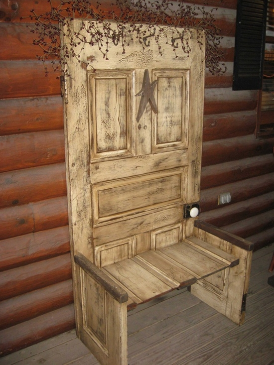 repurposed door