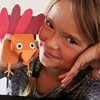 Turkey Puppets – Thanksgiving Craft for Kids
