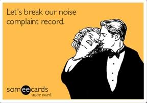Too loud.