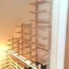 Hutten wall-mounted Side-on Wine Racking